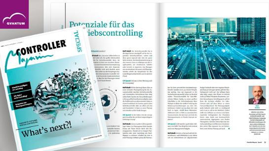 Interview über Vertriebsplanung im Controlling Magazin